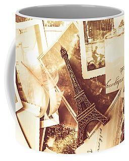 History And Sentiment Of Vintage Paris Coffee Mug