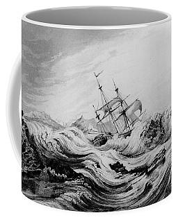 Hms Dorothea Commanded By David Buchan Driven Into Arctic Ice Coffee Mug