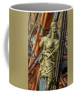 Coffee Mug featuring the photograph Hms Surprise by Bill Gallagher