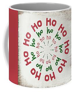 Ho Ho Ho Wreath- Art By Linda Woods Coffee Mug