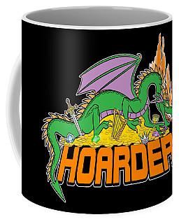 Coffee Mug featuring the digital art Hoarder by J L Meadows