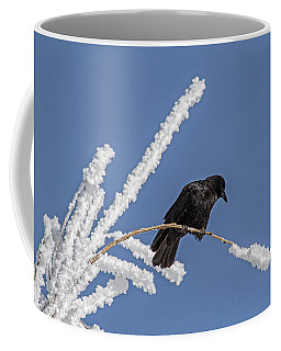Hoarfrost And The Crow Coffee Mug
