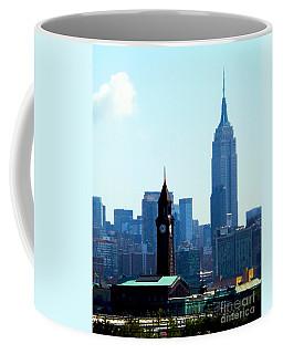 Hoboken And New York Coffee Mug