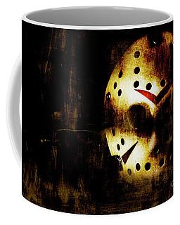 Hockey Mask Horror Coffee Mug