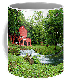 Coffee Mug featuring the photograph Hodgson Water Mill And Spring by Cricket Hackmann