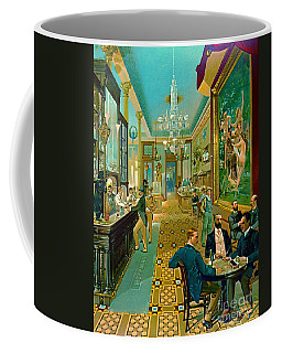 Hoffman House Bar 1890 Coffee Mug by Padre Art