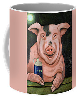 Hogging The Moonshine Coffee Mug