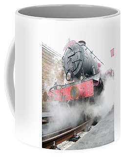 Coffee Mug featuring the photograph Hogwarts Express Train by Juergen Weiss
