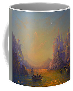 Hogwarts Castle Coffee Mug by Joe Gilronan