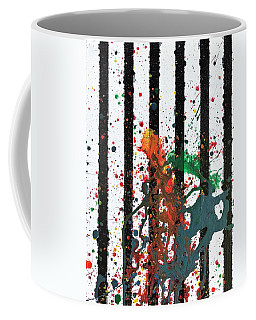 Coffee Mug featuring the painting Hogwarts by Robbie Masso
