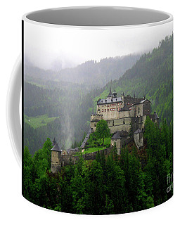 Hohenwerfen Castle Coffee Mug by Sheila Ping