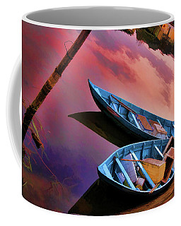 Hoi An Digital Paint  Coffee Mug by Chuck Kuhn