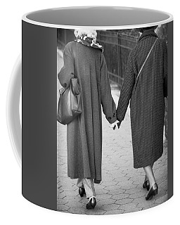 Holding Hands Friends Coffee Mug