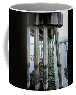 Coffee Mug featuring the photograph Holding It Up by Fran Riley