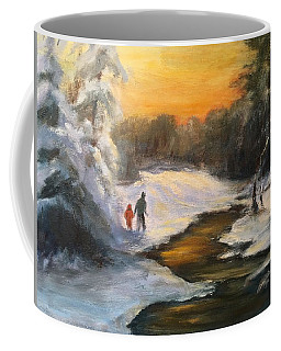 Holding My Father's Hand Coffee Mug