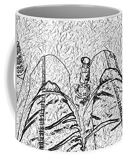 Coffee Mug featuring the photograph Holding The Beer by Rosanne Licciardi