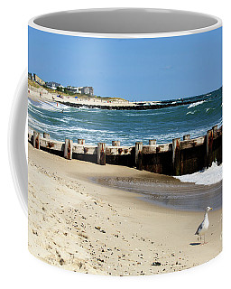 Coffee Mug featuring the photograph Holgate Beach 2006 by John Rizzuto