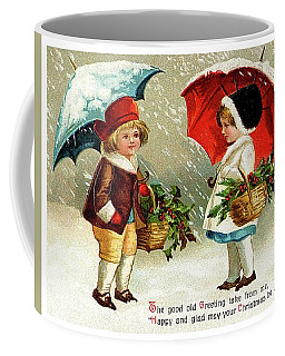 Holiday Greetings From Two Friends Coffee Mug