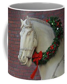 Holiday Horse Coffee Mug by Mike Martin