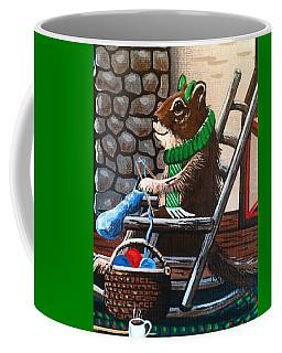 Holiday Knitting Coffee Mug