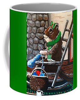 Holiday Knitting Coffee Mug