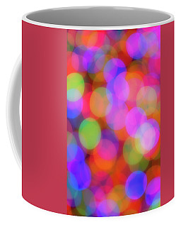 Coffee Mug featuring the photograph Holiday Lights by Darren White