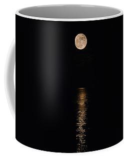 Coffee Mug featuring the photograph Holiday Magic - Lunar Art by Jordan Blackstone