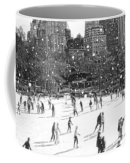 Holiday Skaters Coffee Mug
