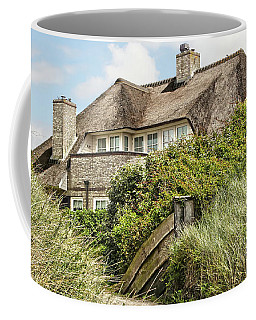 Holland - Thatched House In The Dunes Coffee Mug