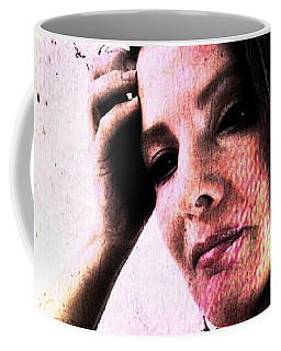 Coffee Mug featuring the digital art Holly 1 by Mark Baranowski