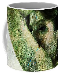 Coffee Mug featuring the digital art Holly 2 by Mark Baranowski