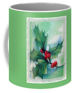 Holly Sprig Coffee Mug