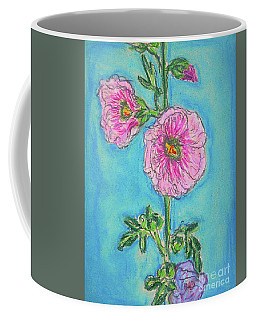 Hollyhock Coffee Mug by Gerhardt Isringhaus