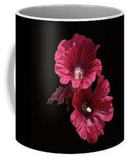 Hollyhock Glory Coffee Mug