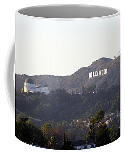 Hollywood Hills And Griffith Observatory Coffee Mug