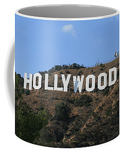 Coffee Mug featuring the photograph Hollywood by Marna Edwards Flavell