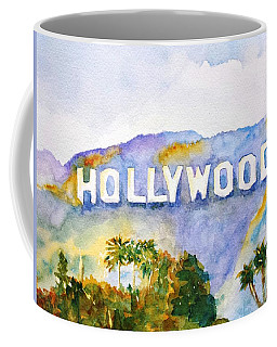 Hollywood Sign California Coffee Mug