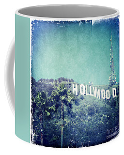 Hollywood Sign Coffee Mug by Nina Prommer