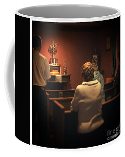 Holy Adoration Altar Coffee Mug