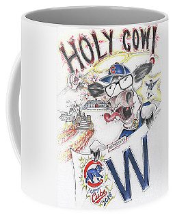 Holy Cow  Coffee Mug by Scott and Dixie Wiley