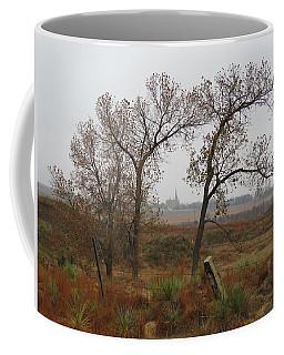 Holy Cross Shrine In The Distance Coffee Mug