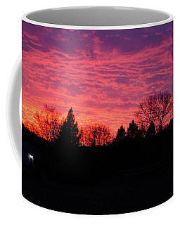 Holy Hill - Gloom To Color Coffee Mug by Janice Adomeit