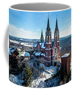 Holy Hill Side View Coffee Mug