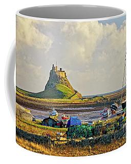 Holy Island And Lindisfarne Castle Coffee Mug