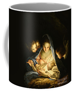 Nativity Scene Coffee Mugs Fine Art America