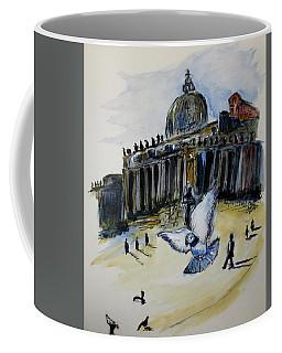 Holy Pigeons Coffee Mug