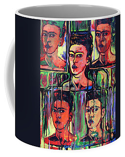 Homage To Frida Kahlo Coffee Mug