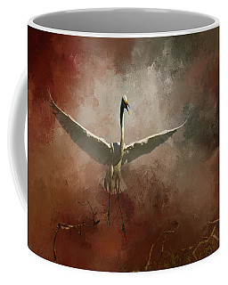 Coffee Mug featuring the photograph Home Coming by Marvin Spates