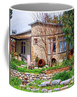 Coffee Mug featuring the photograph Home In Greece by Roberta Byram