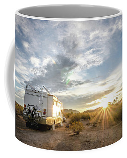 Home In The Desert Coffee Mug